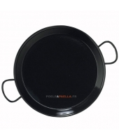 Plat paella induction acier emaill - Poele paella induction ...