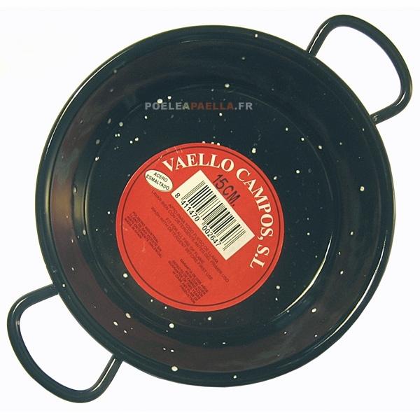Paella en acier maill de 15 cm tapa - Poele paella induction ...